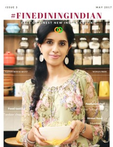 Anushruti's Interview in FineDiningIndian