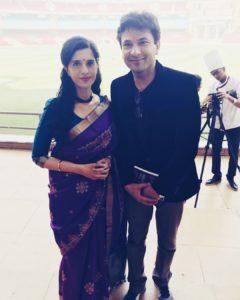 With Vikas Khanna