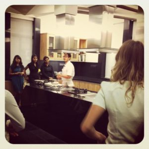 Anushruti at BBC GoodFood Test Kitchen launch