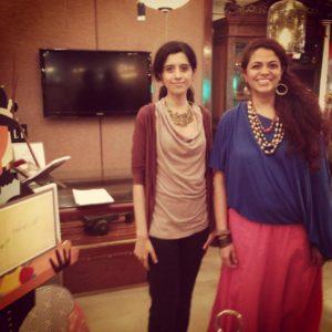 Anushruti with Chanda Chaudhary