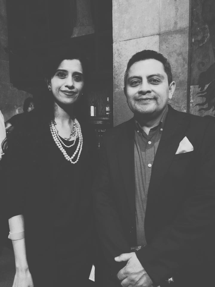 Anushruti with Consulate General of Ecuador
