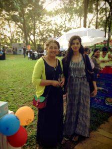 Anushruti with Karen Anand