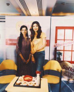 Anushruti with Shilpa Shetty