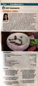 Anushruti's Mavinkai Tambli in Mumbai Mirror